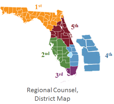 Florida Dca Map.Regional Counsel 4th District Fl Criminal Conflict And Civil